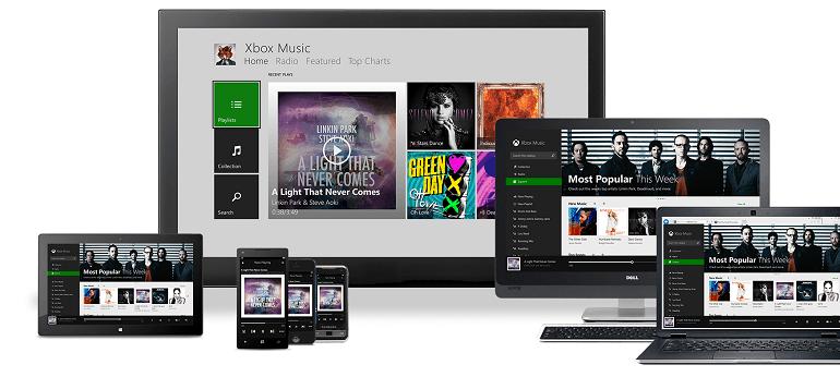 Приложение Xbox Music для iOS и Android и бесплатный веб-стриминг