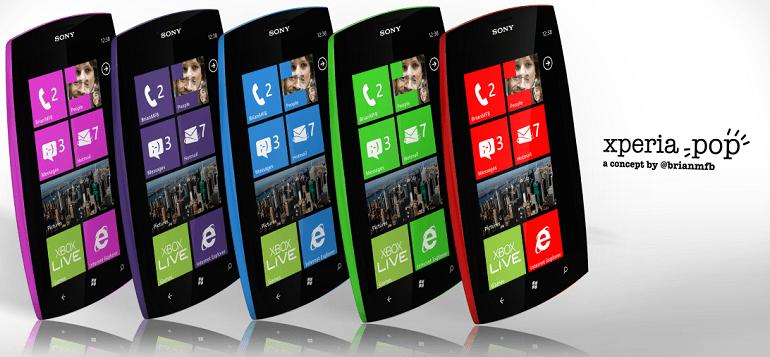 Sony может выпустить смартфон с Windows Phone в 2014 году