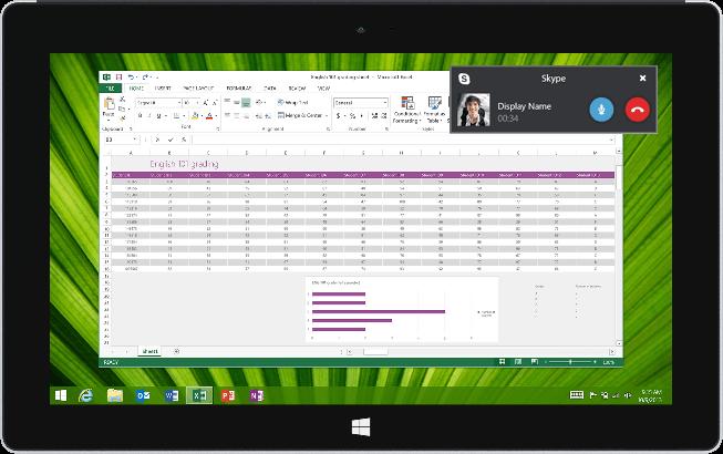 Microsoft Lync будет называться Skype For Business в 2015 г