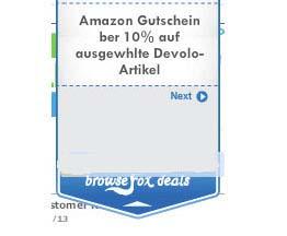 рекламный блок Browsefox