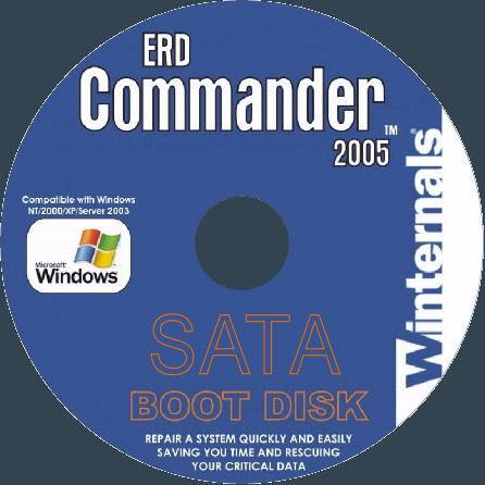 ERD Commander Windows XP, Vista, Windows 7 - скачать 32 и 64 битную версию
