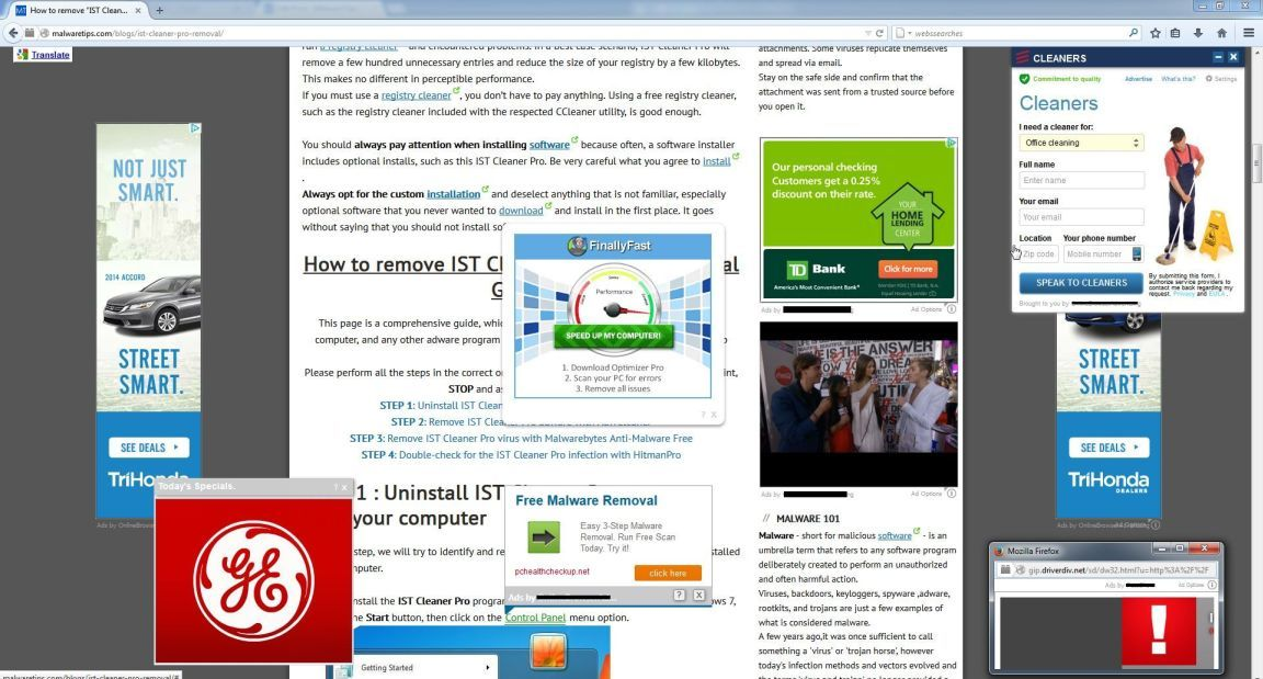 Как удалить Ads by Offerswizard вручную и избавиться от рекламы