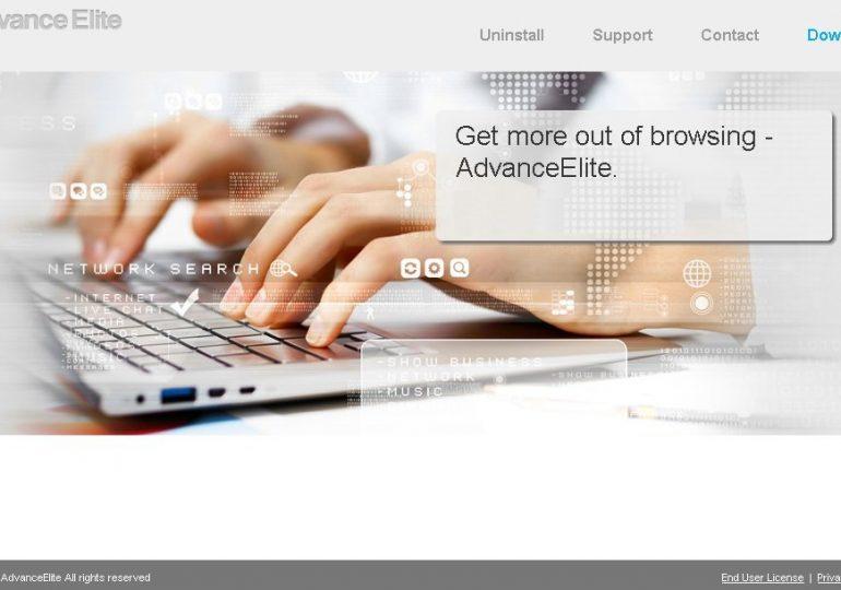 Как удалить Advanceelite с компьютера