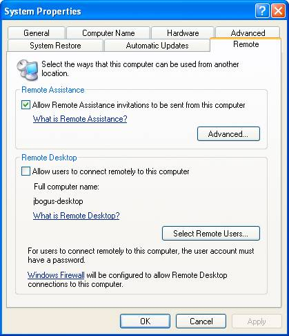 Создание подключения к удалённому рабочему столу Windows 7