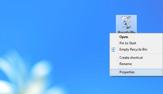 Как включить диалог подтверждения на удаление в Windows 8