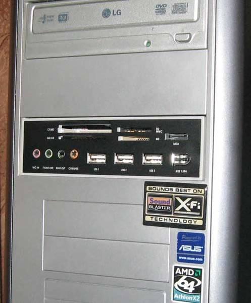 Что такое картридер в компьютере