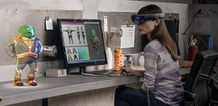 Microsoft HoloLens: меню «Пуск», новый аксессуар и другие новости о проекте