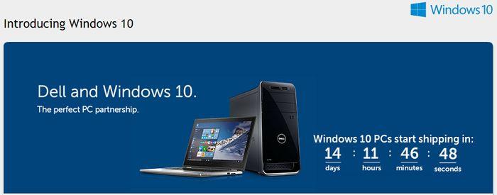Microsoft: Компьютеры с Windows 10 начнут продаваться 29 июля