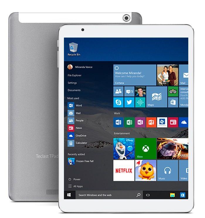 Teclast X98 Pro поступил в продажу. Windows 10, процессор Atom X5 и 4 ГБ RAM