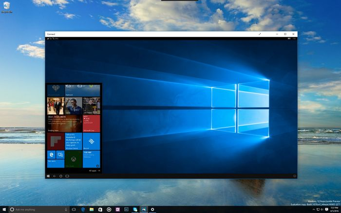 Вышла Windows 10 Insider Preview Build 14316