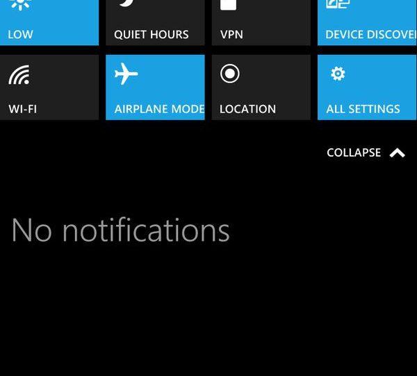 Windows 10 для смартфонов: первые скриншоты Technical Preview