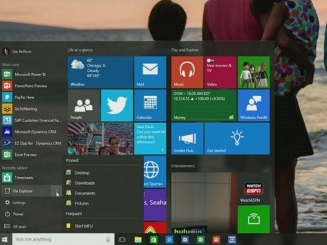 Windows 10: новое в build 10105, 10107 и 10108