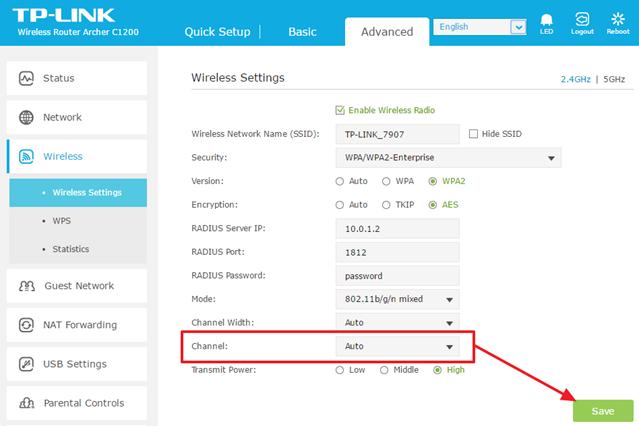 Как поменять канал Wi-Fi на роутере (D-LINK, TP-LINK, ASUS, ZyXEL)