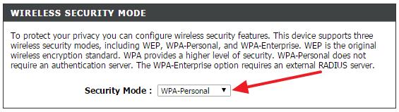 Как поменять WiFi пароль на роутере D-Link