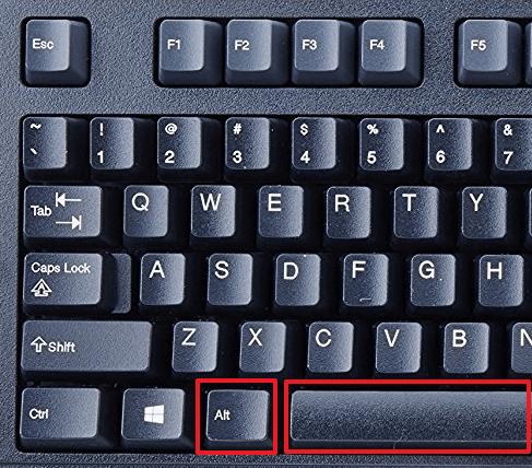 Как свернуть окно с помощью клавиатуры