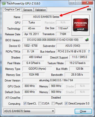Как узнать какая у меня видеокарта на Windows 7, как узнать свою видеокарту на Windows 7