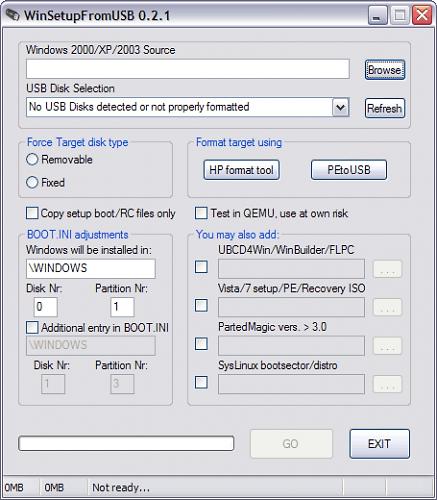Программа для создания загрузочной флешки