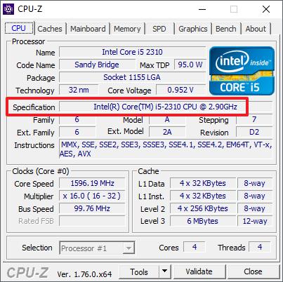 Как узнать какой процессор на компьютере