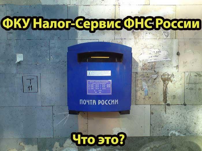 ФКУ Налог-Сервис ФНС России пришло заказное письмо