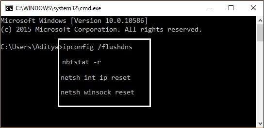 Как исправить ERR_CONNECTION_FAILED