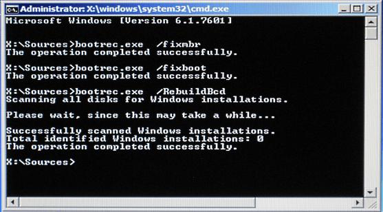 MBR ERROR 1 Press any key to boot from floppy как исправить