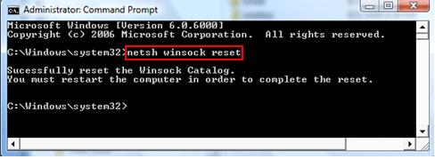 Netsh winsock reset — что делает команда?