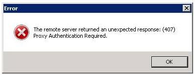 Ошибка Proxy Authentication Required Frigate 407 исправить