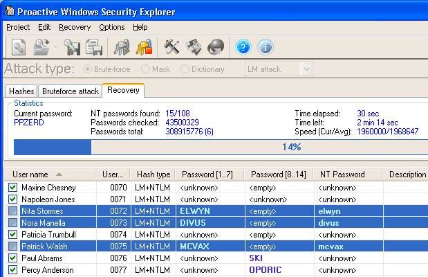 Proactive Windows Security Explorer
