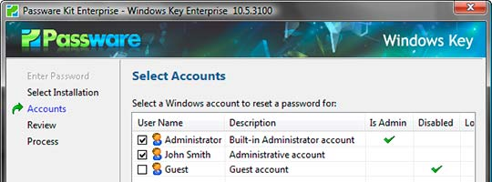 Взлом пароля Passware Kit Enterprise