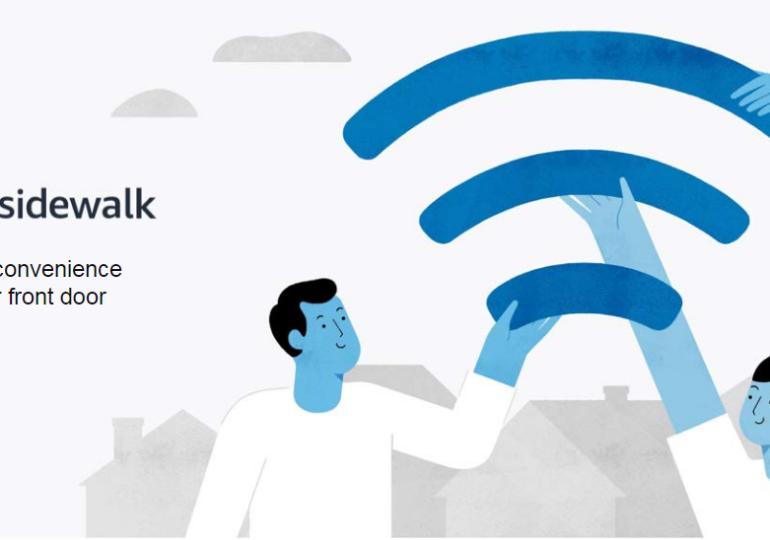 Amazon раскритиковали за функцию Sidewalk, которая подключает устройства Alexa к доступным сетям Wi-Fi