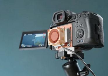 Энтузиаст оснастил Canon R5 системой охлаждения, чтобы добиться неограниченной съемки 8K