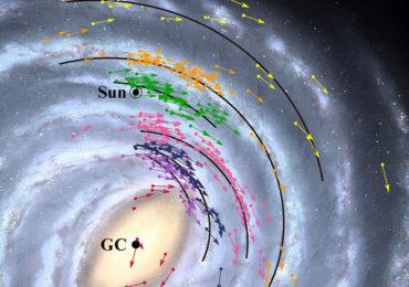 На новой галактической карте Земля оказалась на 2 тысячи световых лет ближе к центру Млечного Пути