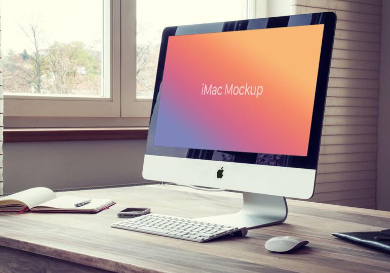 Apple объявила первые модели iMac с дисплеем 5K винтажными