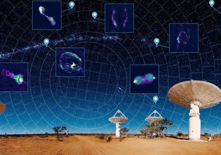 Австралийские учёные создали «новый атлас Вселенной», на который нанесли три миллиона галактик