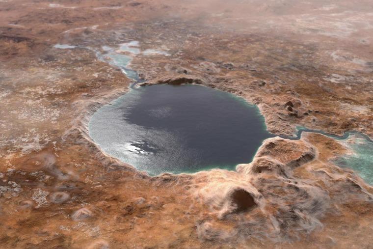 Подземные воды Марса могут стать хорошим источником кислорода