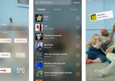 Instagram разрешил пользователям из России добавлять музыку в Stories